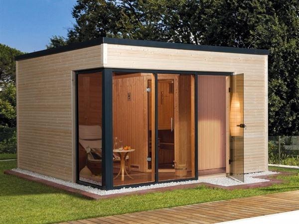 Weka Design-Saunahaus Cubilis